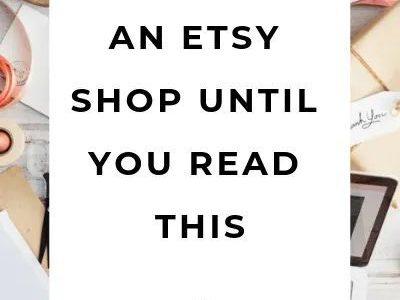 Warnung: Dinge, die ich gerne gewusst hätte, bevor ich einen Etsy-Shop eröffnet habe