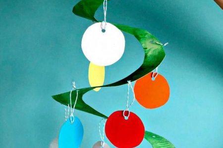 Pappteller Weihnachtsbaum Whirligig - Red Ted Art - Machen Sie das Basteln mit Kindern einfach und macht Spaß