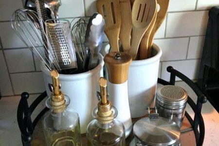 Organisation der Küchentheke - Inspiration für Mütter