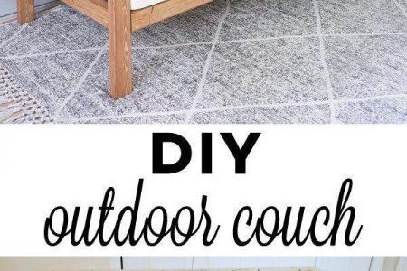 DIY Outdoor Couch - Angela Marie Made #homedecorideas #home Dekorationsideen #home de ...
