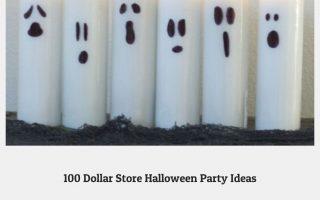 100 Dollar Store Halloween Party Ideen