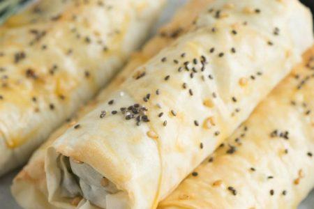 Türkisches Börek mit Schafskäse und Spinat | Backen macht glücklich