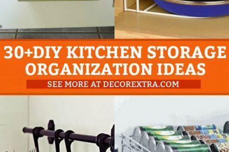 30 Genius DIY Küche Lagerung und Organisation Ideen Diy Home Decor, Diy Cr ...
