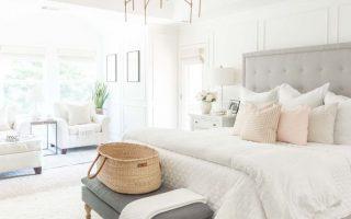 Sechs errötende rosa Schlafzimmer-Tipps, die nicht zu mädchenhaft sind   Erröten rosa Schlafzimmer, Schlafzimmer, Schlafzimmer Farben