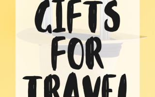 Geschenkideen für Reisende & Reiseliebhaber