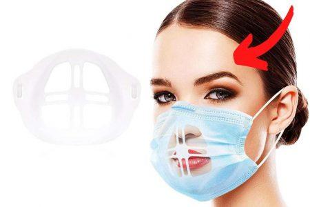 😍 Atmungsaktiver & Lippenstift-Schutz