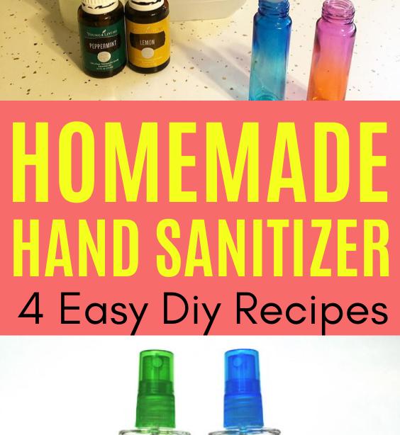 Selbstgemachtes Händedesinfektionsmittel Einfaches DIY-Rezept - Wie Sie Ihr eigenes Händedesinfektionsmittel mit Alkohol-Gel-Spray herstellen