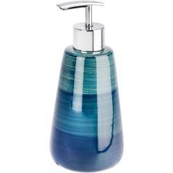 Wenko Seifenspender Keramik Keramik Blau, Grün Wenko