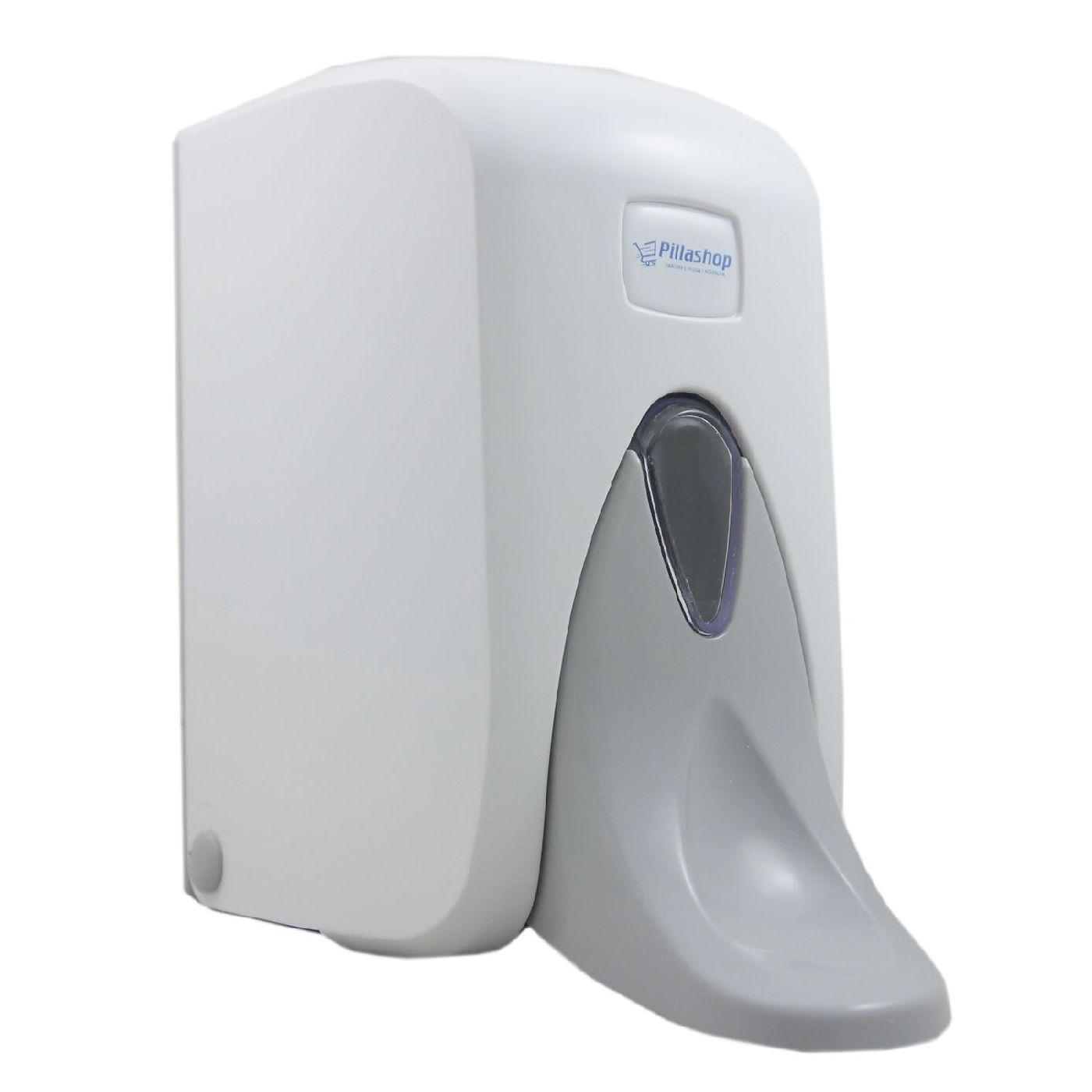 SANISMART Seifenspender IRIS Weiß nachfüllbar, Ausführung: 500 ml