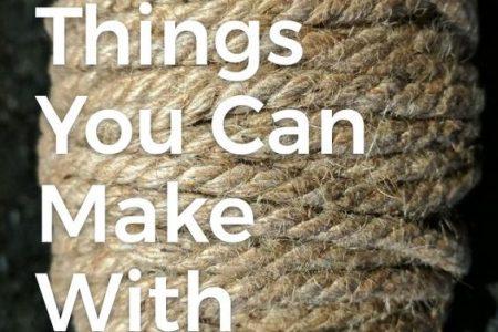 25 schöne Dinge, die Sie mit Seil & Schnur machen können
