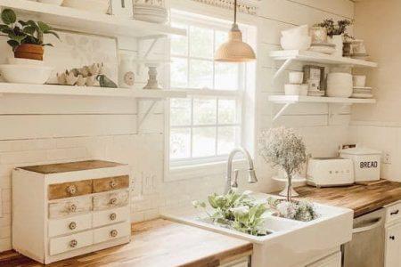 30 Bauernküchenideen für einen warmen und gemütlichen Kochraum