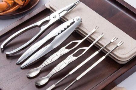 Meeresfrüchte-Werkzeugsatz - Bündel
