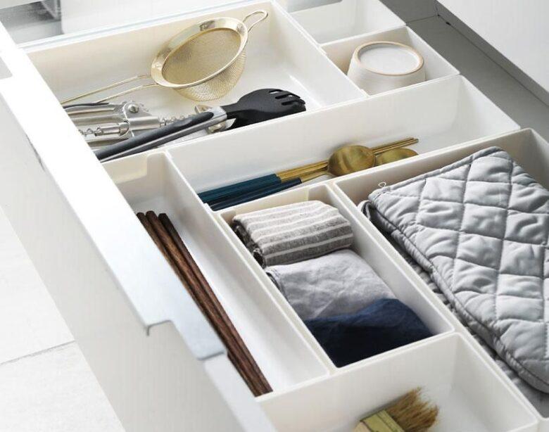4-teiliges Schubladen-Organizer-Set