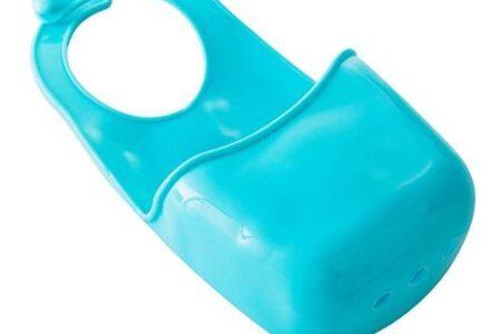 Küchenspüle Schwammhalter Badezimmer hängendes Sieb Organizer Aufbewahrungsbox Rack - Blau